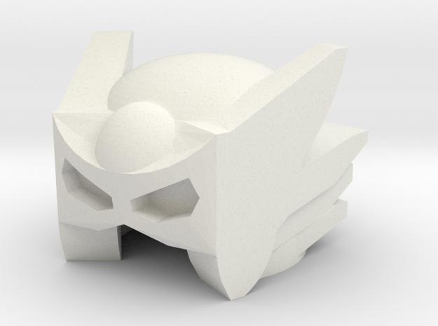 Robohelmet: Stinker in White Natural Versatile Plastic