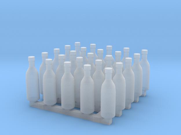 Bottles of Vodka/Vine x25 3d printed