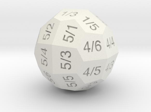 D36 Individual Numbers 3d printed