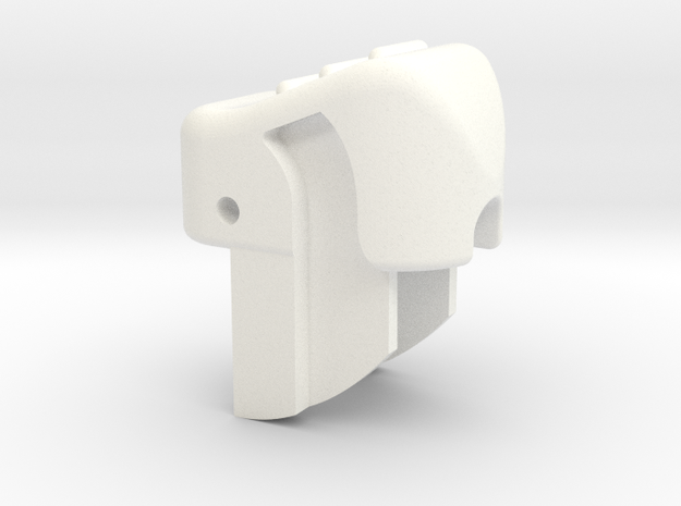 Bugaboo Gen 2 Handle Release Rocker Button in White Processed Versatile Plastic