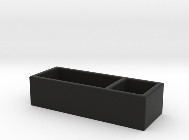 Desk Box in Black Strong & Flexible
