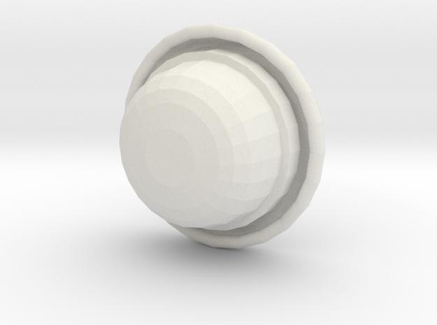 Bowler (rounder top) 3d printed