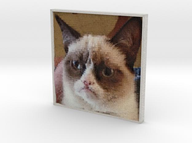 PhotoPixels | Turn photos into 3D pixel sculptures in Full Color Sandstone