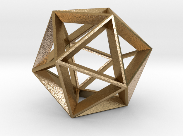 Polyhedral Sculpture #20 A 3d printed