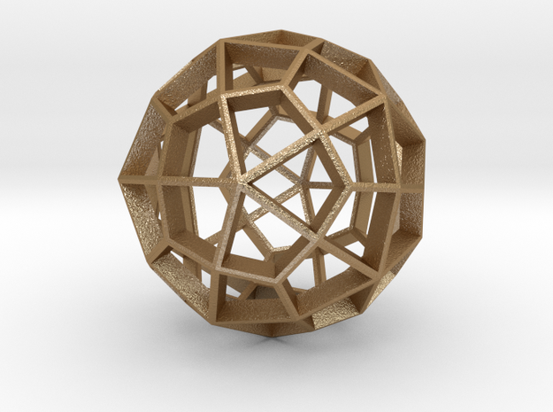 Polyhedral Sculpture #29B 3d printed
