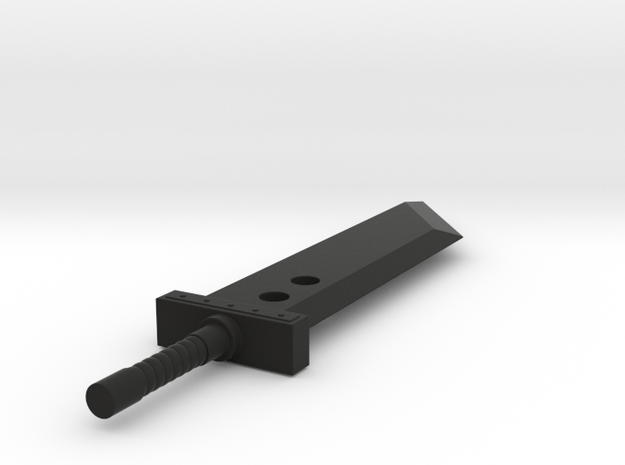 Buster Sword 3d printed