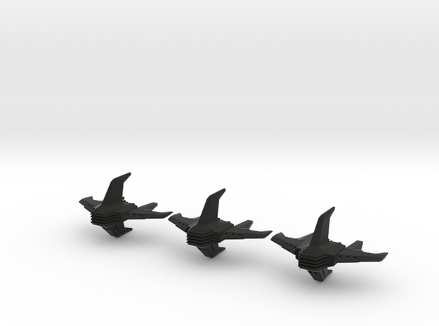 Shadow Rift Mechanized Empire Bomber Wing 3d printed