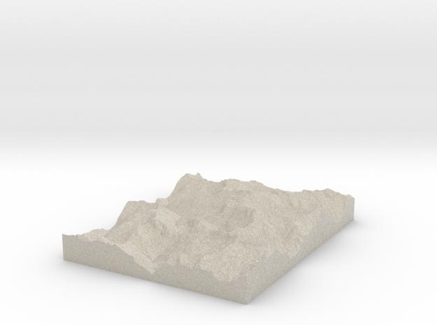 Model of Phantom Peak 3d printed