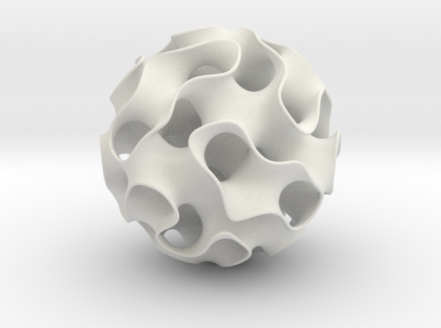 Gyroid Exhibit Size 3d printed