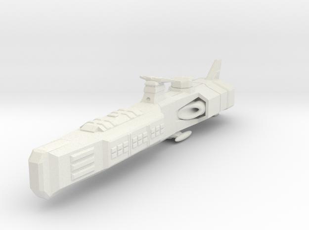 Shadow Rift Mechanized Empire Destroyer in White Natural Versatile Plastic