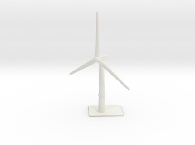 1/700 Wind Farm (x1 Turbine) in White Natural Versatile Plastic