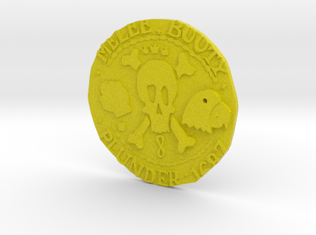 Monkey Island 3 | Verb Coin in Full Color Sandstone