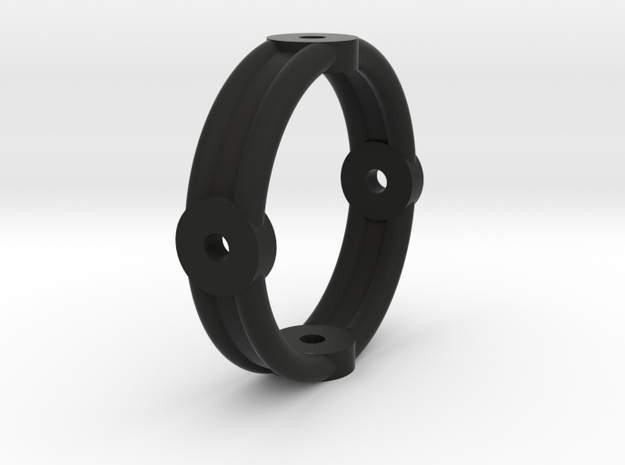 Kardanring2 in Black Strong & Flexible