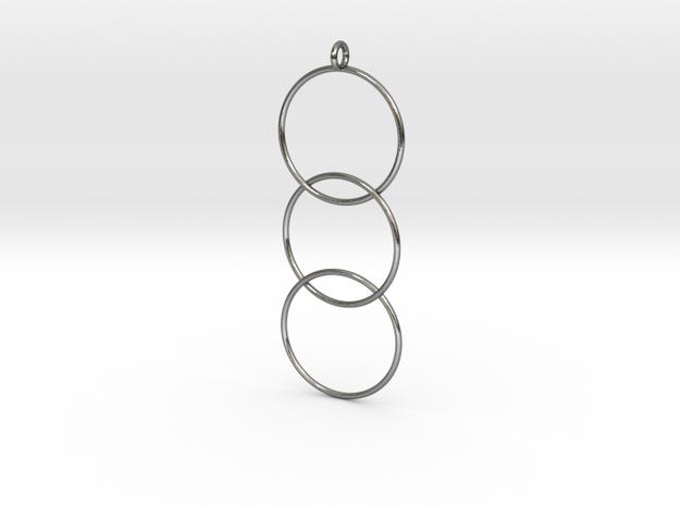 Interlaced Circles v2 3d printed