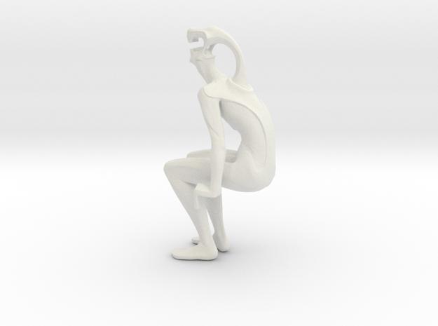 sentado b in White Strong & Flexible