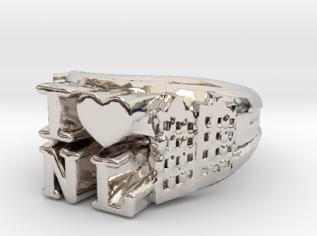 I Love Holland Ring D16 3d printed