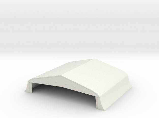1/350 Bessonneau Hangar 3 in White Strong & Flexible