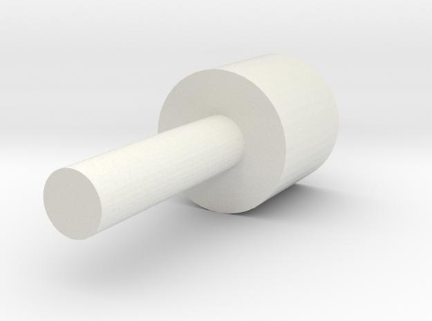 targeting assist 17Ga in White Natural Versatile Plastic