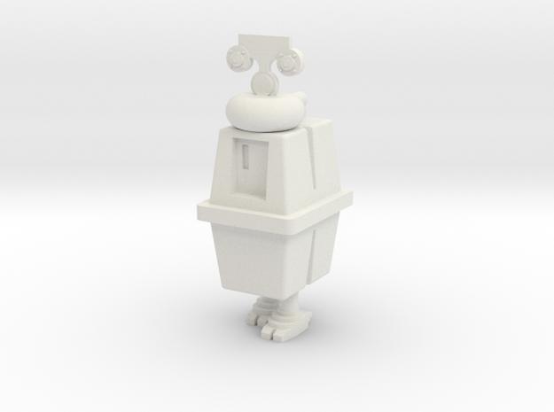 1/48 O Scale Box Robot EG4 in White Natural Versatile Plastic