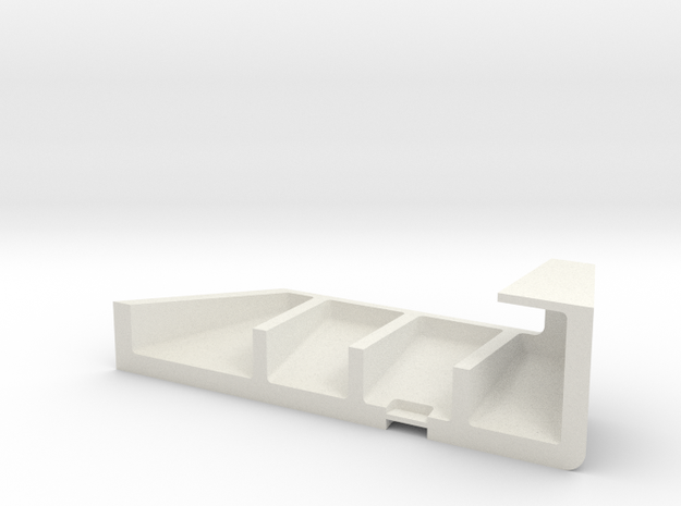 bullworks  stern stbd side in White Natural Versatile Plastic