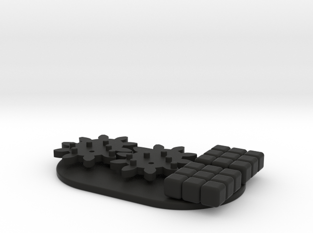 Variomatic Gears 3d printed