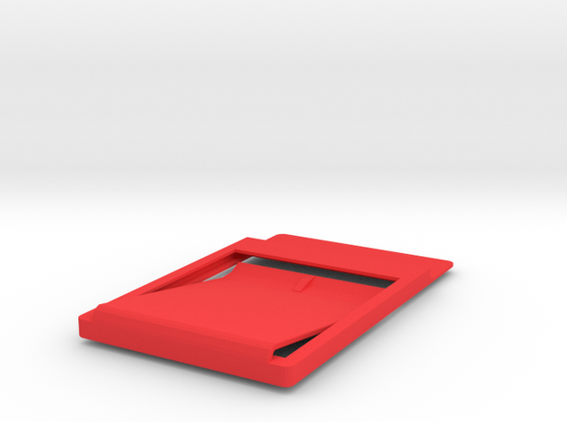 Slim minimalistic Wallet with money clip 3d printed