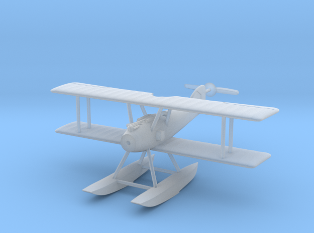 1/144 Albatros W.4 (early) 3d printed