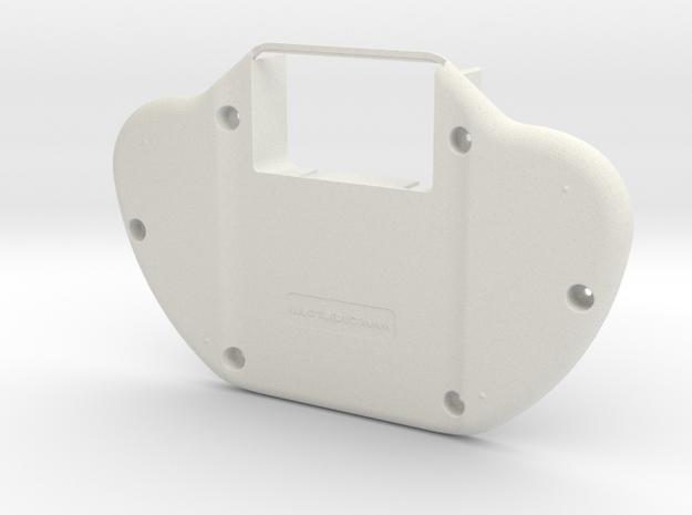 GAMEN; Gameman Handheld Gaming Device in White Natural Versatile Plastic
