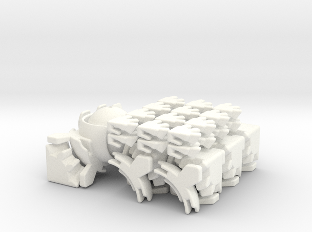 Polo Gear Cube 3d printed