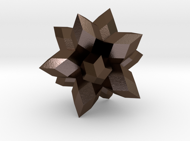 12-Pointed Zome Star 3d printed
