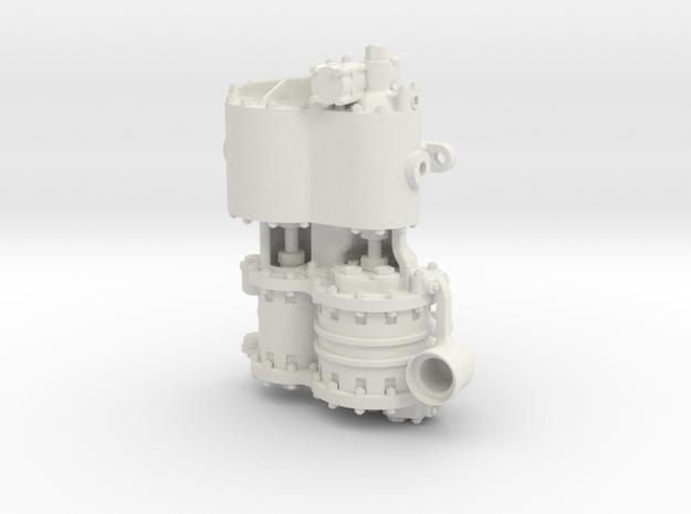 Westinghouse CC  .75 Intake in White Natural Versatile Plastic