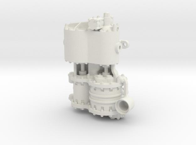 Westinghouse CC 1.5 Intake in White Natural Versatile Plastic