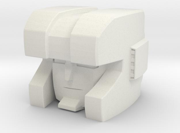 BT -03 HUNT HEAD in White Strong & Flexible