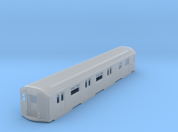 N Scale Budd R32 Subway Car Body Shell in Frosted Ultra Detail