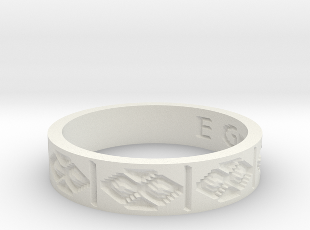 by kelecrea, engraved: E Group 3d printed