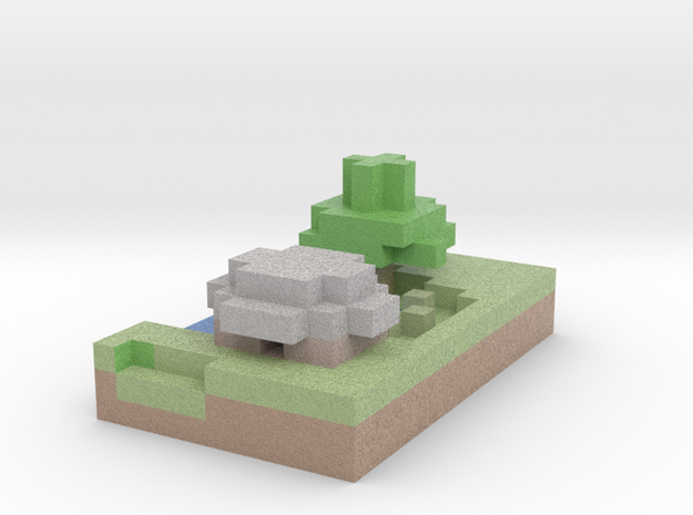 swamp house in Full Color Sandstone