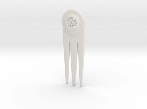 Hair pin Steam Punk  3d printed