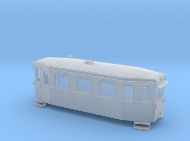 Schmalspurtriebwagen T1 der HSB (1:87) 3d printed