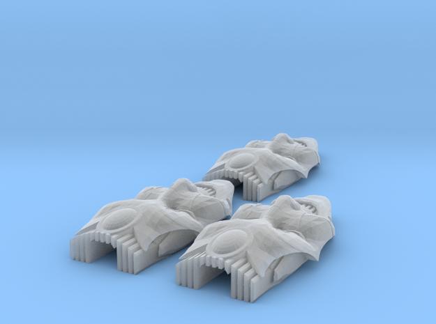 Dark Elf Gravbike Canope (x3) 3d printed