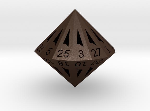 28 Sided Die - Regular 3d printed