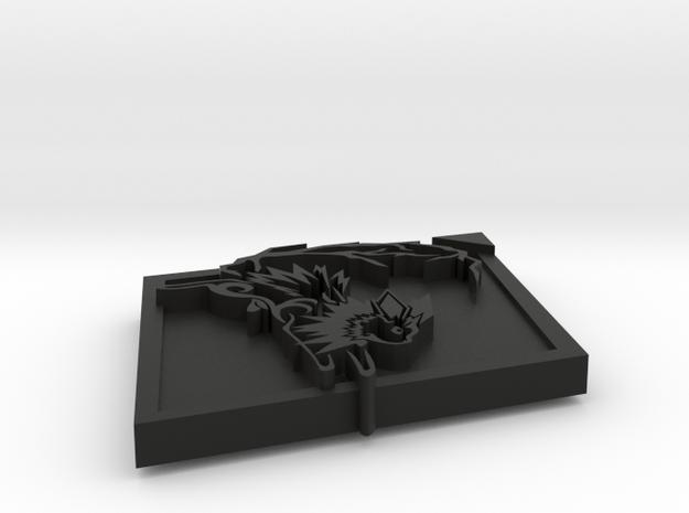 Jolteon Pendant 3d printed