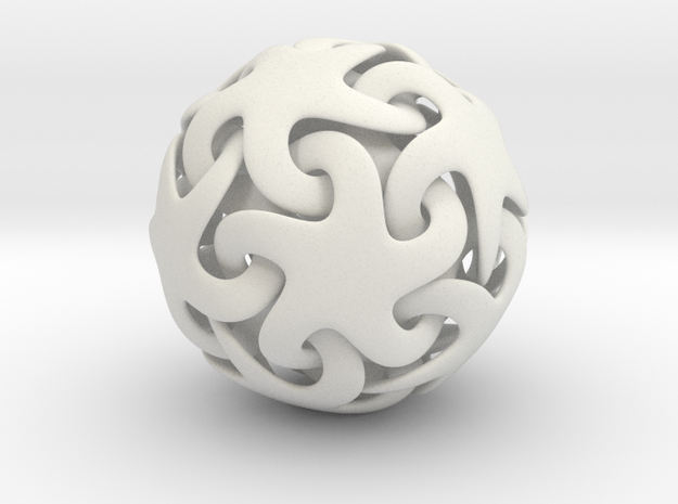 Starfish ball 3d printed