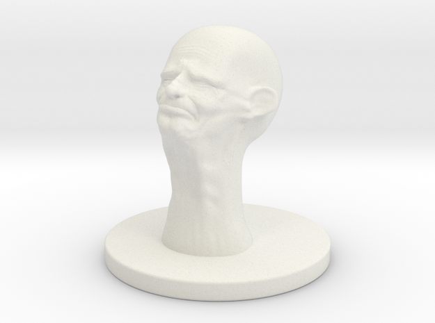 1 Inch Crying Aged One 3d printed