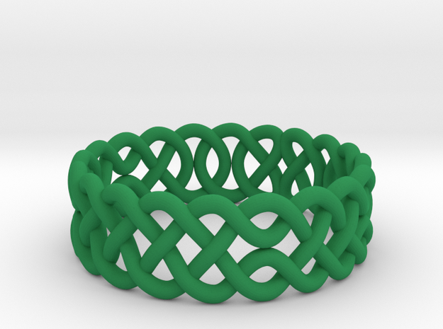 Celtic Ring - 16mm ⌀ 3d printed