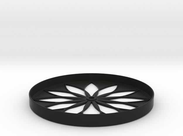 Hillbarn 2012 Crop Circle Clock 3d printed