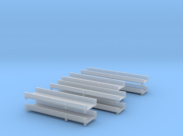 Leiterpritschen 4x  in Smooth Fine Detail Plastic
