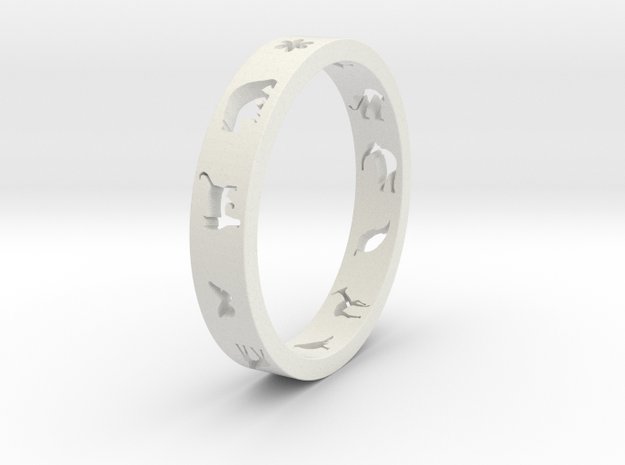 Animal Ring 3d printed