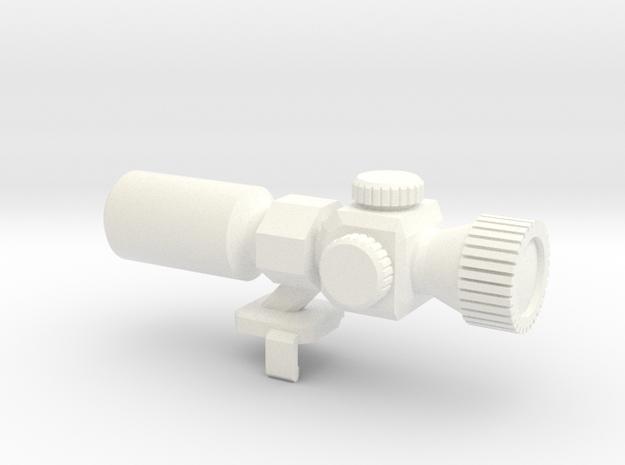 Megatron Fusion Cannon 2 in White Processed Versatile Plastic