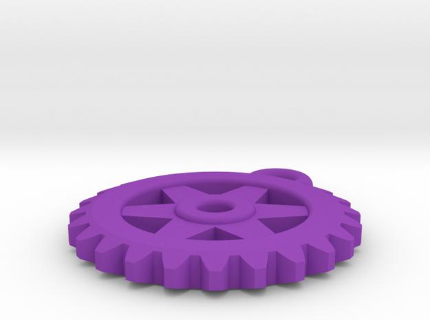 Gear Pendant 3d printed