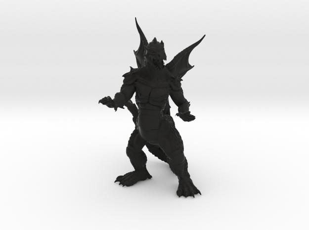 "Pyrosaurus - Solid core 4"" 3d printed"